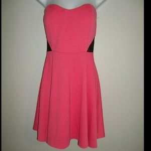 Guess Strapless Dress M